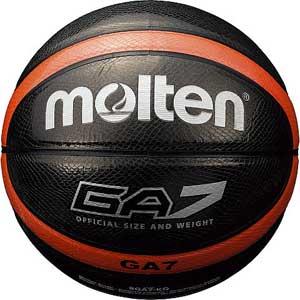 モルテン バスケットボール 7号ボール 7号球 GA7 BGA7-KO メンズ 7 BLK