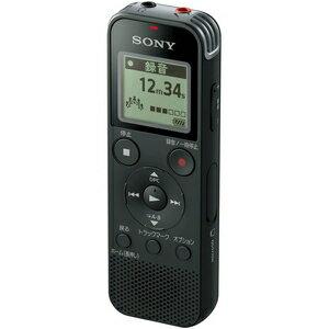 ICD-PX470F B ソニー リニアPCM対応ICレコーダー4GB内蔵+外部マイクロSDカードスロット搭載(ブラック) SONY