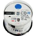TYCR80YP50SP HIDISC データ用700MB 48倍速対応CD-R 50枚パック ワイドプリンタブル