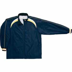 CB462506S-2911-150 コンバース ジュニア用ウォームアップジャケット(ネイビー/ホワイト・サイズ:150) CONVERSE