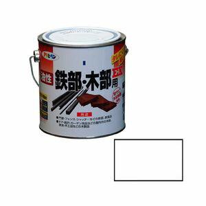 アサヒペン 油性鉄部 木部用EX 0.7L (白) 9016521