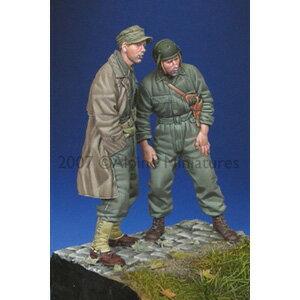 1/35 アメリカ戦車兵セット(WW2)【AM35053】 アルパイン