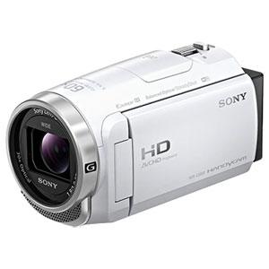 ソニー SONY HDR-CX680-W ホワイト ハンディカム デジタルHDビデオカメラレコーダー