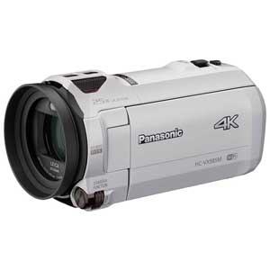 HC-VX985M-W パナソニック デジタル4Kビデオカメラ「HC-VX985M」(ホワイト) [HCVX985MW]【返品種別A】【送料無料】