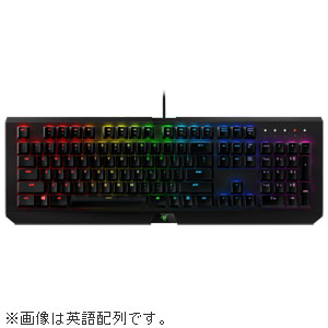 RZ03-01761000-R3J1 Razer ゲーミングキーボード 日本語配列 BlackWidow X Chroma [RZ0301761000R3J1]【返品種別A】【送料無料】