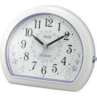 デイリ-R550-12 リズム時計 目覚まし時計 4SE550DN12 [デイリR55012]【返品種別A】
