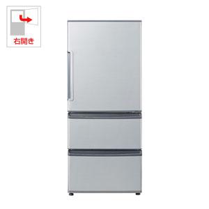 AQR-271F-S アクア 272L 3ドア冷蔵庫 ミスティシルバー 【右開き】 AQUA [AQR271FS]【返品種別A】【送料無料】(標準設置無料)
