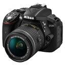 D5300LKP18-55 ニコン デジタル一眼レフカメラ「D5300」AF-P 18-55 VR レンズキット(ブラック) [D5300LKP1855]【返品種別A】