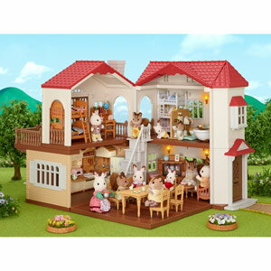 シルバニアファミリー 赤い屋根の大きなお家【ハ-48】 エポック社