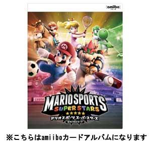 amiiboカードアルバム マリオスポーツスーパースターズ 【税込】 マックスゲームズ [AM…