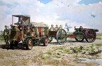 【再生産】1/72 米FWDモデルB・3ton牽引車&BL8インチ野砲Mk.VI・WW-1【072T713】 ローデン