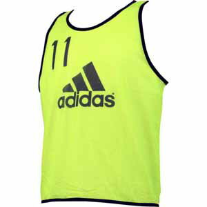 AJ-BDP75-AI2014-J/L アディダス サッカー ゲームアクセサリ(ソーラーイエロー ・サイズ:L) adidas フットボール ビブス(10枚セット) [AJBDP75AI2014JL]【返品種別A】【送料無料】