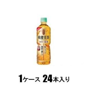 爽健美茶 健康素材の麦茶 600ml(1ケース24本入) コカ・コーラ ソウケン ムギチヤ 600PX24