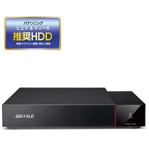 HDV-SQ3.0U3/VC バッファロー USB3.1(Gen1)/3.0対応 外付けハードディスク 3.0TBビエラ&DIGA(ディーガ)推奨ハードディスク(SeeQVault対応) [HDVSQ30U3VC]【返品種別A】【送料無料】