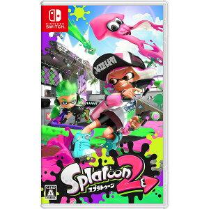 【Nintendo Switch】Splatoon 2(スプラトゥーン2) 任天堂 [HAC-P-AAB6A NSWスプラトゥーン2]