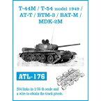 1/35 T-44M/T-54 1949年型/AT-T/BTM-3/BAT-M/MDK2-M【ATL-176】 フリウルモデル
