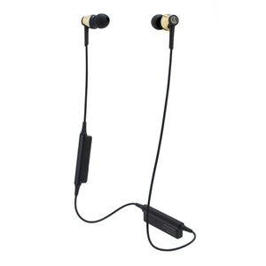 ATH-CKR35BT-GD オーディオテクニカ Ver.4.1 Bluetooth対応ワイヤレスヘッドセット(ゴールド) audio-technica