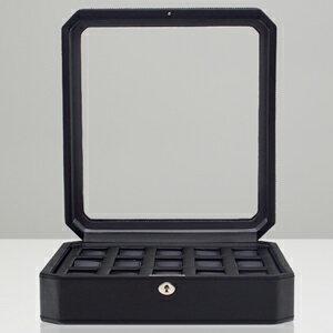 4585029-WINDSOR ウルフ 時計収納ケース(15本収納) ブラック WOLF [4585029WINDSOR]【返品種別B】