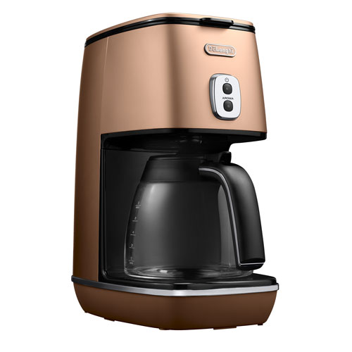 ICMI011J-CP デロンギ コーヒーメーカー スタイルコッパー DeLonghi ディスティンタコレクション [ICMI011JCP]
