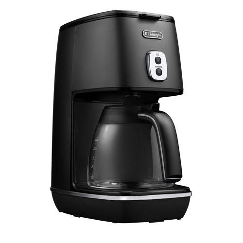 ICMI011J-BK デロンギ コーヒーメーカー エレガンスブラック DeLonghi ディスティンタコレクション [ICMI011JBK]