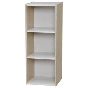 アイリスオーヤマラック 収納 本棚 書棚 オープンラック ディスプレイラック 文庫 スペースユニット 3段(261472) アイリスオーヤマ