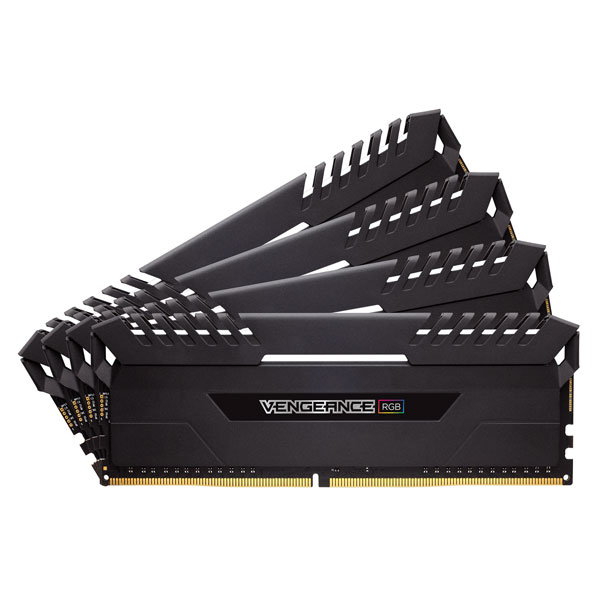 CMR32GX4M4C3333C16【税込】 コルセア PC4-26600 (DDR4-3333)288pin DDR4 DIMM 32GB(8GB×4枚) CORSAIR Vengeance RGB Series [CMR32GX4M4C3333C16]【返品種別B】【RCP】:Joshin web 家電とPCの大型専門店