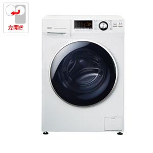 ドラム式洗濯機 アクア AQW-FV800E-W アクア 8.0kg ドラム式洗濯機【左開き】ホワイト AQUA Hot Water Washing(乾燥機能なし) [AQWFV800EW]