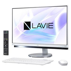 PC-DA770HAW NEC 23.8型 デスクトップパソコンLAVIE Desk All-in-one DA770/HAシリーズファインホワイト (Office Home&Business Premium プラス Office 365) [PCDA770HAW]【返品種別A】【送料無料】