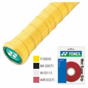 ヨネックス ラケットスポーツ グリップテープ ウエットスーパーグリツプ ツメカエ AC102-5 ホワイト