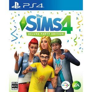 【封入特典付】【PS4】The Sims(TM)4 Deluxe Party Edition …