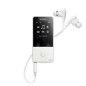 NW-S315 W ソニー ウォークマン S310シリーズ 16GB(ホワイト) SONY Walkman [NWS315WC]【返品種別A】【送料無料】