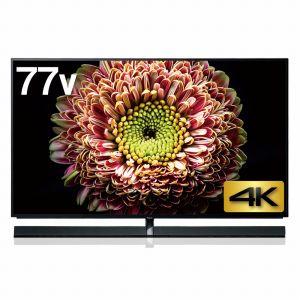 (標準設置料込_Aエリアのみ)TH-77EZ1000 パナソニック 【受注生産品】77V型 有機ELパネル 地上・BS・110度CSデジタル4K対応テレビ (別売USB HDD録画対応)VIERA