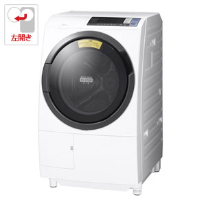 BD-SG100BL-W 日立 10.0kg ドラム式洗濯乾燥機【左開き】ホワイト HITACHI [BDSG100BLW]【返品種別A】【送料無料】(標準設置無料)