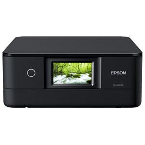 EP-880AB エプソン A4プリント対応 インクジェット複合機(ブラック) EPSON Colorio(カラリオ) [EP880AB]【返品種別A】【送料無料】