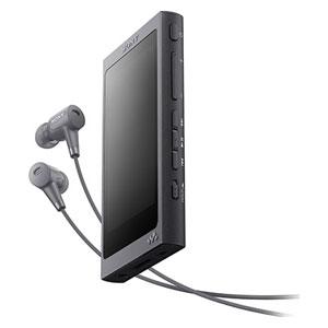 NW-A45HN B ソニー ウォークマン A40シリーズ 16GB ハイレゾ対応デジタルノイズキャンセリングヘッドホン同梱モデル(グレイッシュブラック) SONY Walkman [NWA45HNBM]【返品種別A】【送料無料】