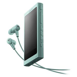 NW-A45HN G ソニー ウォークマン A40シリーズ 16GB ハイレゾ対応デジタルノイズキャンセリングヘッドホン同梱モデル(ホライズングリーン) SONY Walkman [NWA45HNGM]【返品種別A】【送料無料】