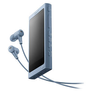 NW-A45HN L ソニー ウォークマン A40シリーズ 16GB ハイレゾ対応デジタルノイズキャンセリングヘッドホン同梱モデル(ムーンリットブルー) SONY Walkman [NWA45HNLM]【返品種別A】【送料無料】