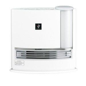 HX-G120-W シャープ 加湿機能付セラミックヒーター(ホワイト) 【暖房器具】SHARP 「プラズマクラスター7000」搭載 [HXG120W]【返品種別A】【送料無料】