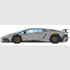 車, ミニカー・トイカー 143 Lamborghini AventadorLP750-4 SV 2015 (SV)EM358D