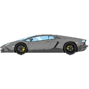 1/43 Lamborghini Aventador LP720-4 50th Anniversario 2013 グリジオテレスト【EM285I】 メイクアップ