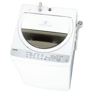 (標準設置料込)AW-6G6-W 東芝 6.0kg 全自動洗濯機 グランホワイト TOSHIBA