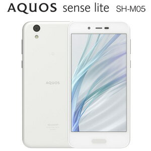 SH-M05-W シャープ AQUOS sense lite SH-M05 (ホワイト) 5.0インチ SIMフリースマートフォン [...