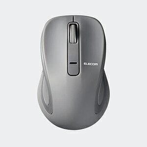 エレコム BlueLEDマウス Salalシリーズ Sサイズ Bluetooth/3ボタン グレー M-BT17BBGY 1個 ELECOM