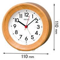 KR899A セイコークロック 置き掛け兼用時計 目覚まし時計 [KR899A]【返品種別A】
