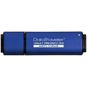 DTVP30AV/4GB kingston USB3.0/2.0対応 USBフラッシュメモリ 4GB DataTraveler Vault Privacy 3.0 Anti-Virus [DTVP30AV4GB]【返品種別B】