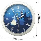 8MG804MC04 リズム 掛け時計 【シンデレラ】 蓄光 [8MG804MC04]【返品種別A】