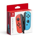【Nintendo Switch】Joy-Con(L) ネオンレッド/(R) ネオンブルー 任天堂 [HAC-A-JAEAA NSWジョイコンLRネオン]