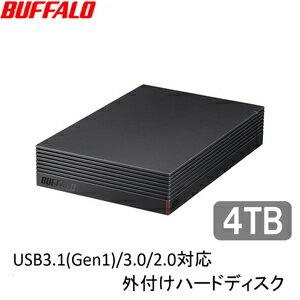 【1/16まで】バッファロー TV録画対応USB3.1/USB3.0対応外付けHDD 4TB  HD-LD4.0U3 実質7,912円送料無料!さらにポイントも!