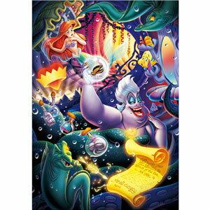ディズニー 危険な取り引き リトル・マーメイド ピュアホワイト ぎゅっと500ピース テンヨー 【Disneyzone】