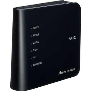 Wi-Fiホームルーター「Aterm WG1200CR」